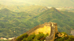 Great Wall in China 38 stylized artsoft diffusion Footage