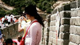 Great Wall in China 40 stylized filmlook DOLLY Footage