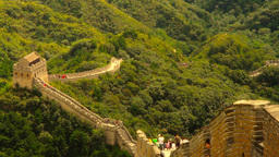 Great Wall in China 42 stylized artsoft diffusion Stock Video Footage