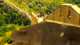 Great Wall in China 46 stylized artsoft diffusion  Footage