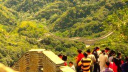 Great Wall in China 48 stylized artsoft diffusion DOLLY Footage