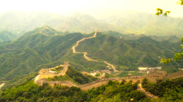 Great Wall in China 58 stylized artsoft diffusion Footage