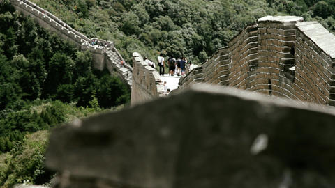 Great Wall in China 73 stylized filmlook DOLLY Footage