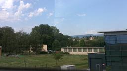 Through Train Window Switzerland 08 Stock Video Footage