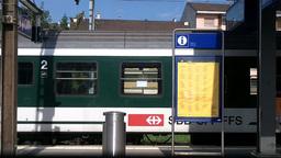 Through Train Window Switzerland 12 Stock Video Footage