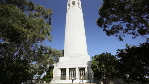 Coit Tower Footage