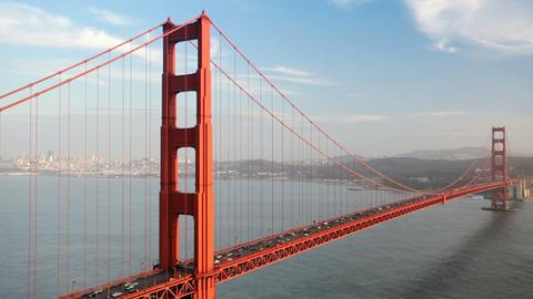 Golden Gate Bridge Traffic Footage
