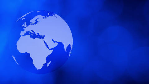 Global business background Animation