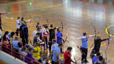Aiming Competition , Bow and Arrow Live Action