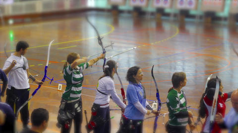 Female Competition Bow and Arrow Live Action
