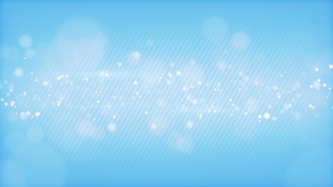 Glowing Bokeh Circles Blue Loop Background Shallow stock footage