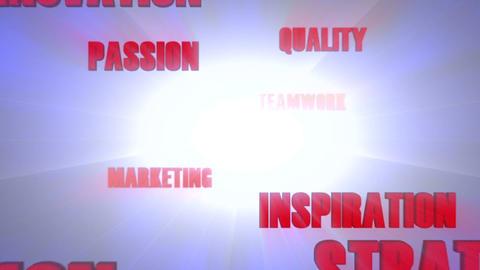 Success Metaphors Cloud 2 Animation