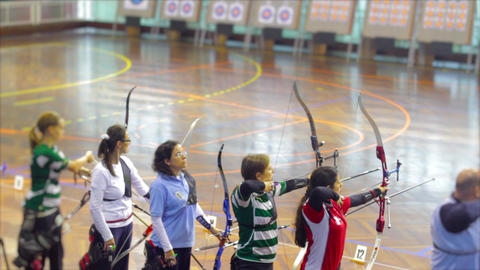 Women Bow and Arrow Live Action