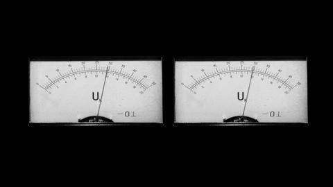 two level indicators Footage