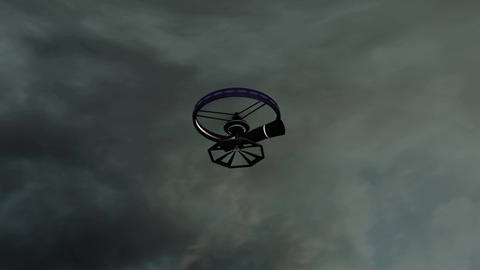 4K High Tech Telezoom Film Camera Drone 9 Animation