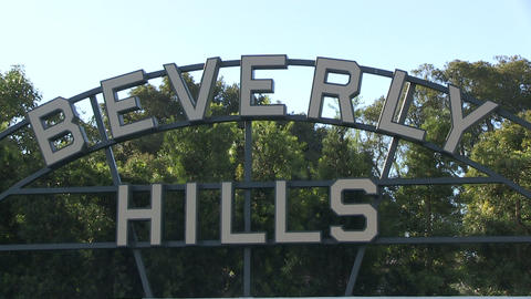 Beverly Hills sign Live Action