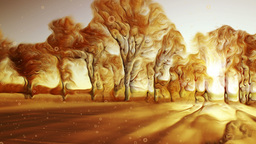 Fantasy Landscape stock footage