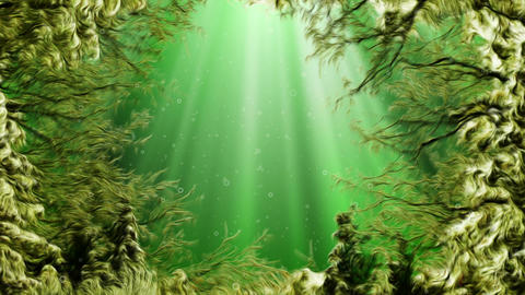 Magical Under Water Scenery Animation