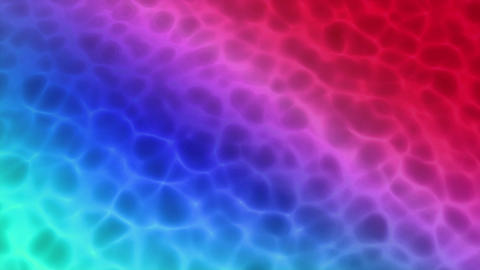 water caustic random rainbow color background Animation