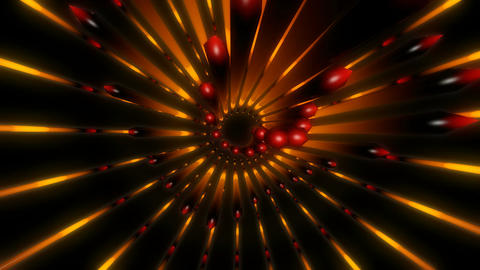 glowing abstract flower Animation