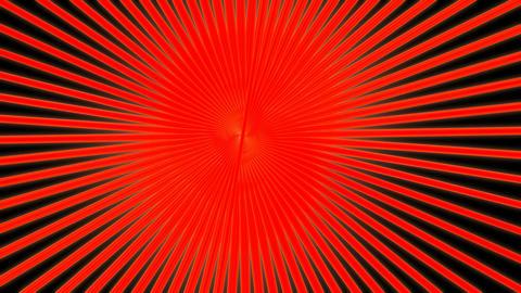 orange asbtract sunburst Animation