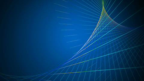 Dancing Blue Net stock footage
