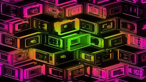Neon Pattern 001 B Alternate Random GSC Animation