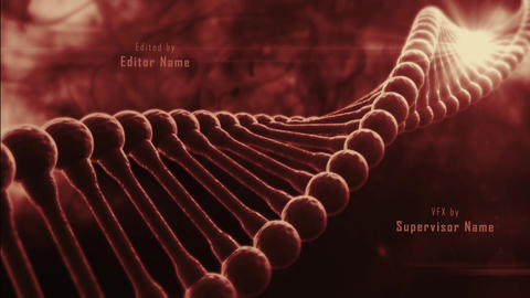 Title Sequence - DNA Infection - Epic Zombie Action Film Opening Intro After Effects Template