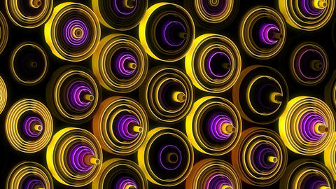 Neon Pattern 003 B Beat Random TC Animation
