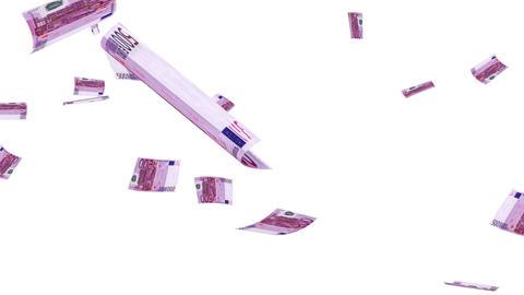 Raining Euros Animation