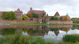 The Castle of the Teutonic Order in Malbork Footage