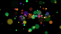 Colorful Drops - Random Emitter Animation