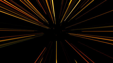 Random rotation of laser beams. Seamless loop.. 4K Animation