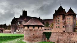 Teutonic Order castle in Malbork - Timelapse Footage