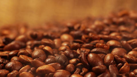 Roasted Coffee Beans Footage