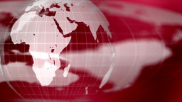 World Global News Background Backdrop Planet Earth stock footage