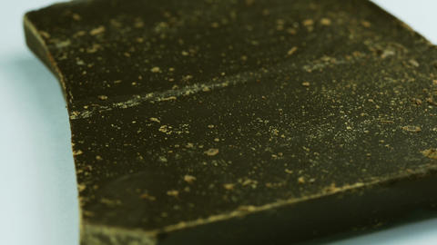 Macro Shot Of Chocolate stock footage