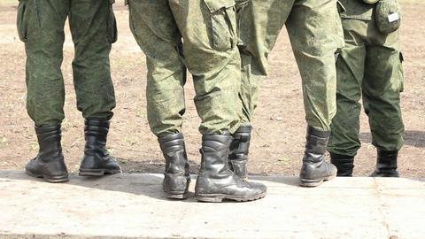 Military men Footage