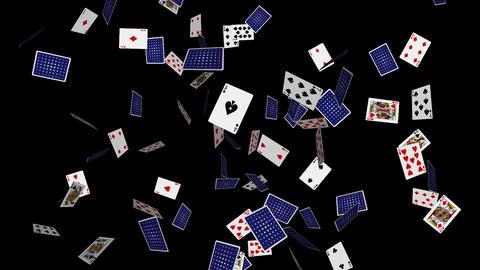 Poker Cards Explosion - 05 - Alpha Animation