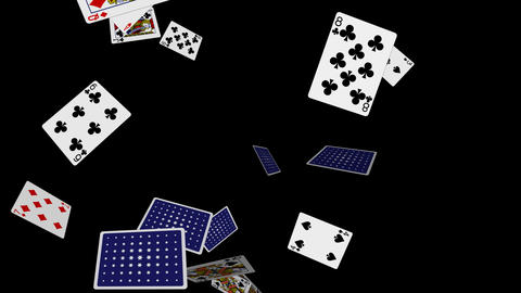 Poker Cards Explosion - 06 - Alpha Animation