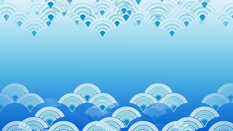 Japanese Blue Ocean Wave Ks 1g 4k Animation