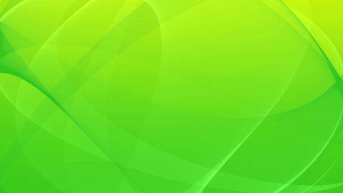 Elegant Waving Canvas - 4 - Green - Loop Animation