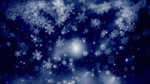 Snow Flakes 03 stock footage