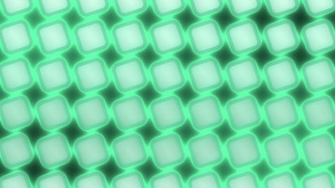 Moving Glow Grid - Abstract Background - green CG動画素材
