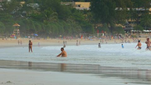 Kata Beach Footage