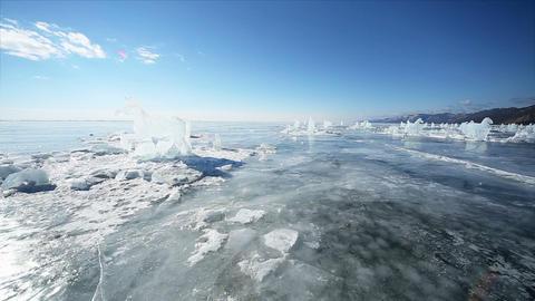 Ice Figures stock footage