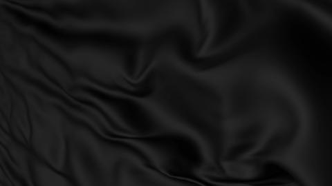 Black Fabric Textile Background Animation