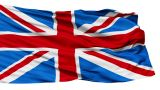 Realistic 3d Seamless Looping Great Britain(English) Flag Waving In The Wind stock footage
