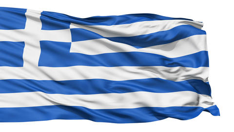 The Flag of Greece Animation