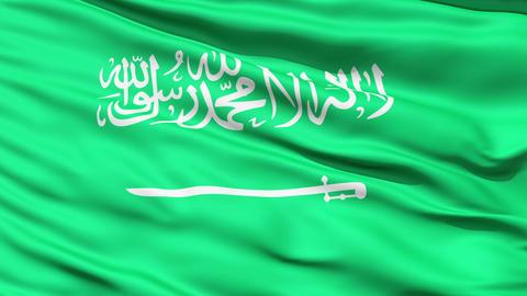 Flag of Saudi Arabia CG動画素材